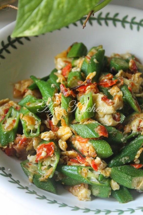 Bendi Goreng Telur Yang Mudah dan Sedap   Resep makanan asia, Makan malam, Resep masakan