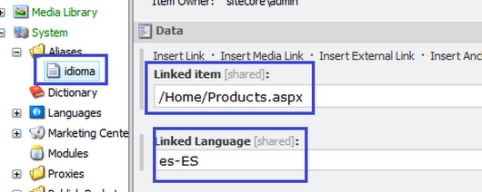 Multilingual Item Alias in Sitecore