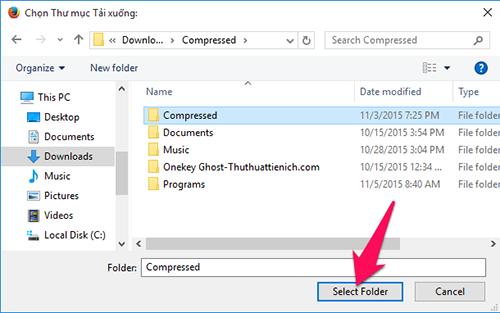 Cách thay đổi thư mục tải về mặc định trên các trình duyệt thông dụng-11
