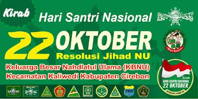 desain spanduk hari santri nasional 22 oktober.cdr