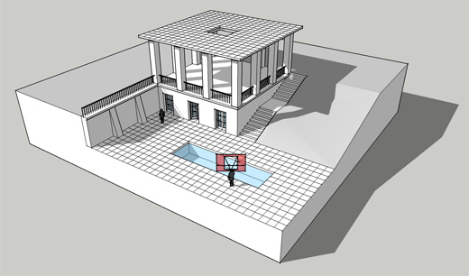 Perspective Resources: 3D model of perspective construction