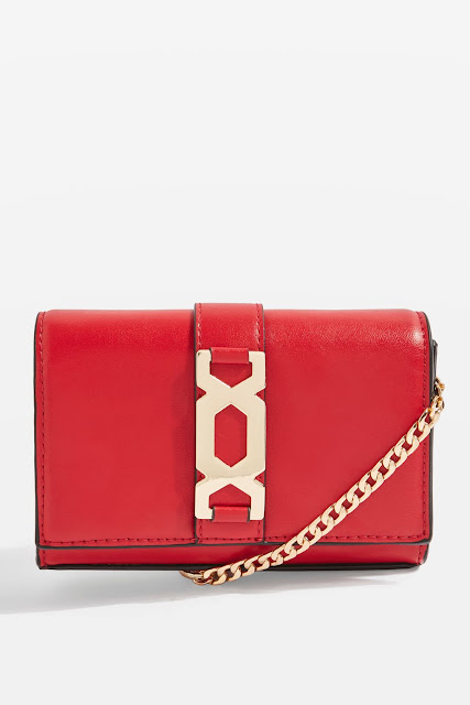miniature red bag cross body
