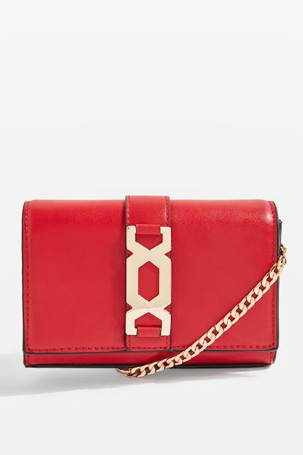 miniature red bag cross body