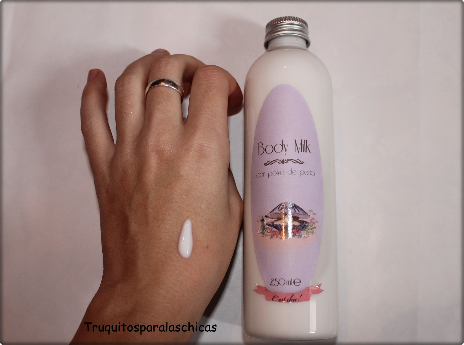 body milk polvo de perlas