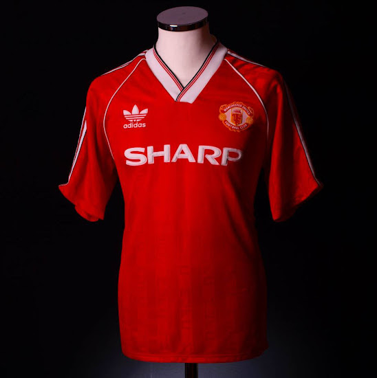 353f7d88817 Adidas Manchester United Home Kit History - Footy Headlines