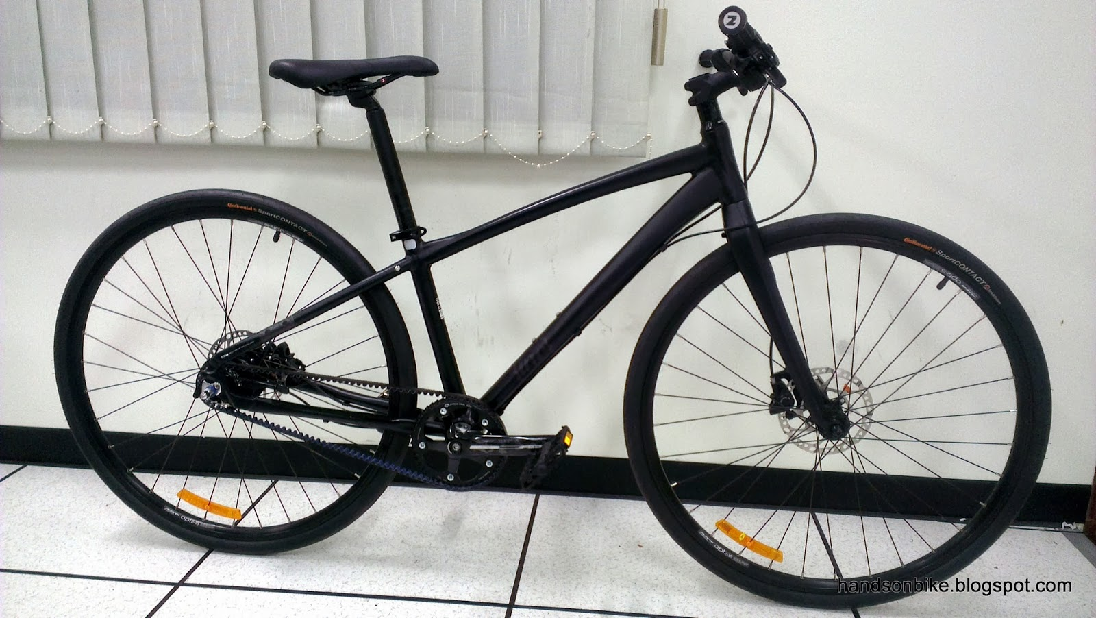 Hands On Bike: Avanti Inc 3: Alfine 11 Internal Hub + Gates Carbon ...