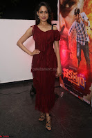 Pragya Jaiswal in Stunnign Deep neck Designer Maroon Dress at Nakshatram music launch ~ CelebesNext Celebrities Galleries 012.JPG