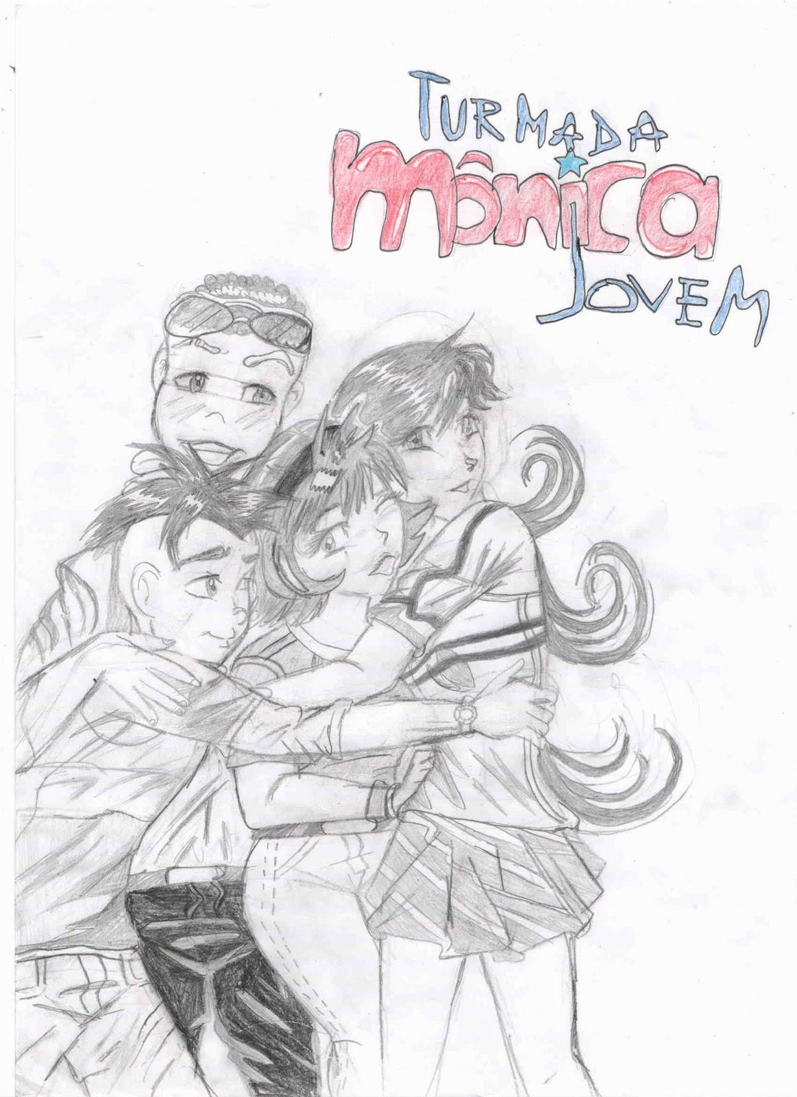 Original Drawings Turma Da Monica Jovem Amigos