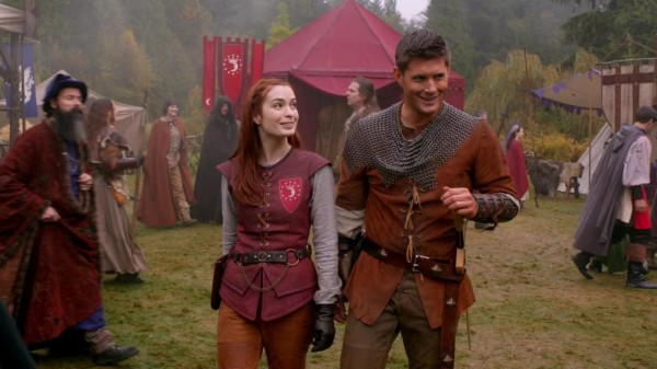 Felicia Day and Jensen Ackles Supernatural