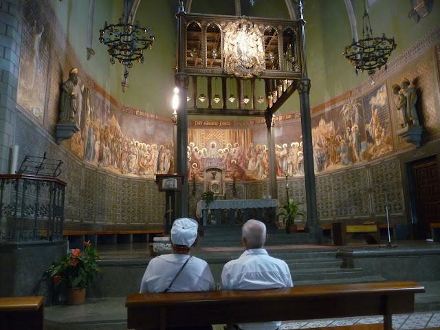 В костеле Девы Марии в Бланесе