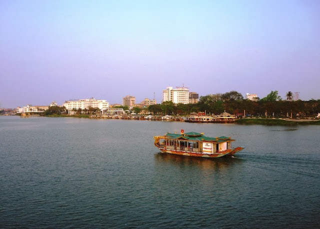 And quiet flows the Huong River 14