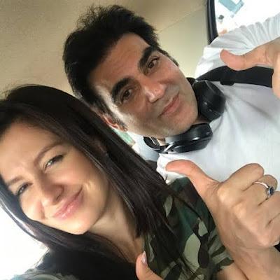 Arbaaz khan with his new gf