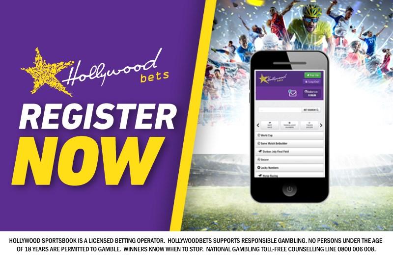 Register Now - Hollywoodbets Mobi