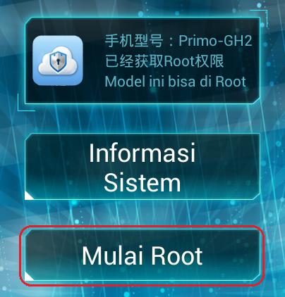 Cara root acer z200