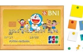 Review Kartu Kredit BNI JCB Gold Doraemon