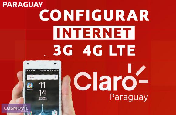 dcca32f0677 En esta publicación te enseñamos cuales son esos datos de APN y como llegar  a la configuración final paso a paso para la compañia Claro Paraguay.
