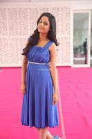 Divya Nandini stunning Beauty in blue Dress at Trendz Exhibition Launch ~  Celebrities Galleries 066.JPG