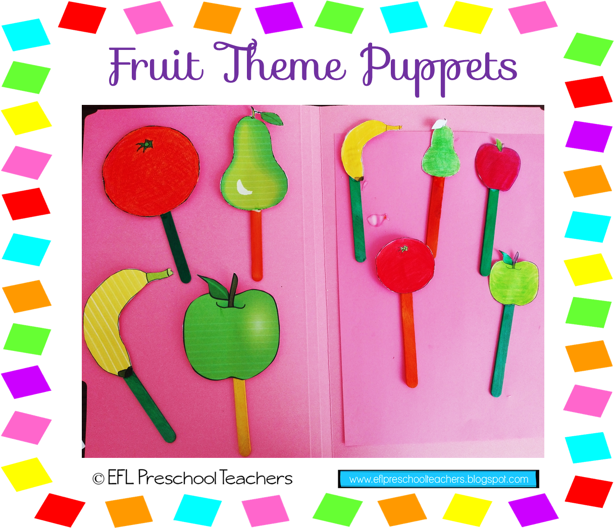Esl Efl Preschool Teachers Fruit Theme For The Preschool Ell