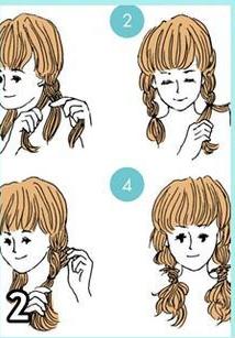 6 Cara Mudah Mengikat Rambut Wanita Hanya Dalam 3 Menit