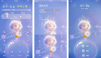 Fairy Bubbles Theme itz For Vivo