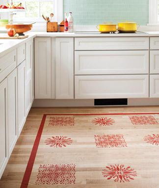 Refresheddesigns Green Idea Diy Painted Floors