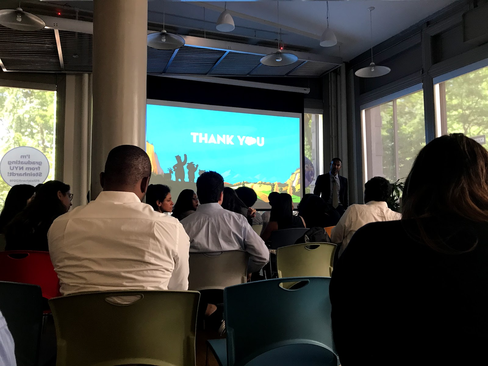 Tigh Loughhead meets Salesforce's Chief Equality Officer Tony Prophet at NYC Equality Workshop