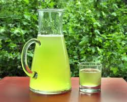 Penyajian Up Green Tea