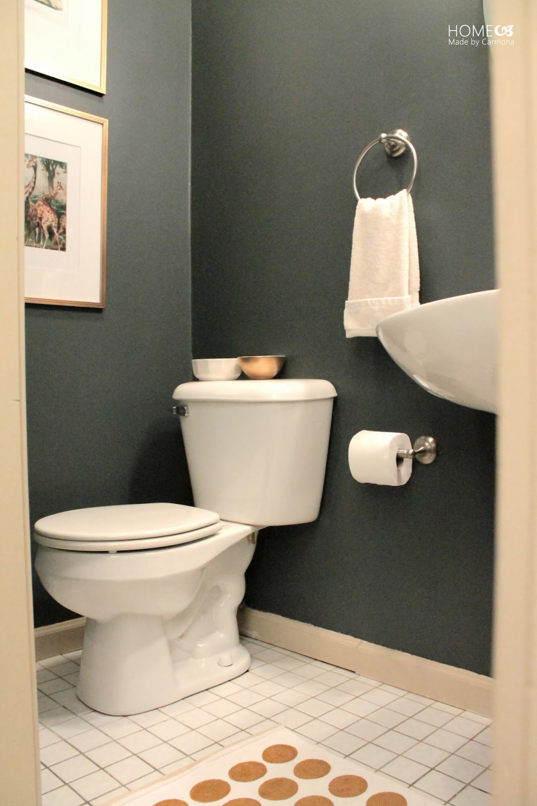 The two day powder room home made by carmona - What is a powder room ...