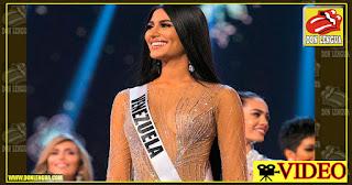Sthefany Gutiérrez quedó de tercera en el Miss Universo