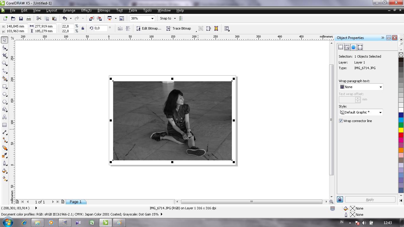 MONSTERADD: Cara membuat gambar 3D di Corel