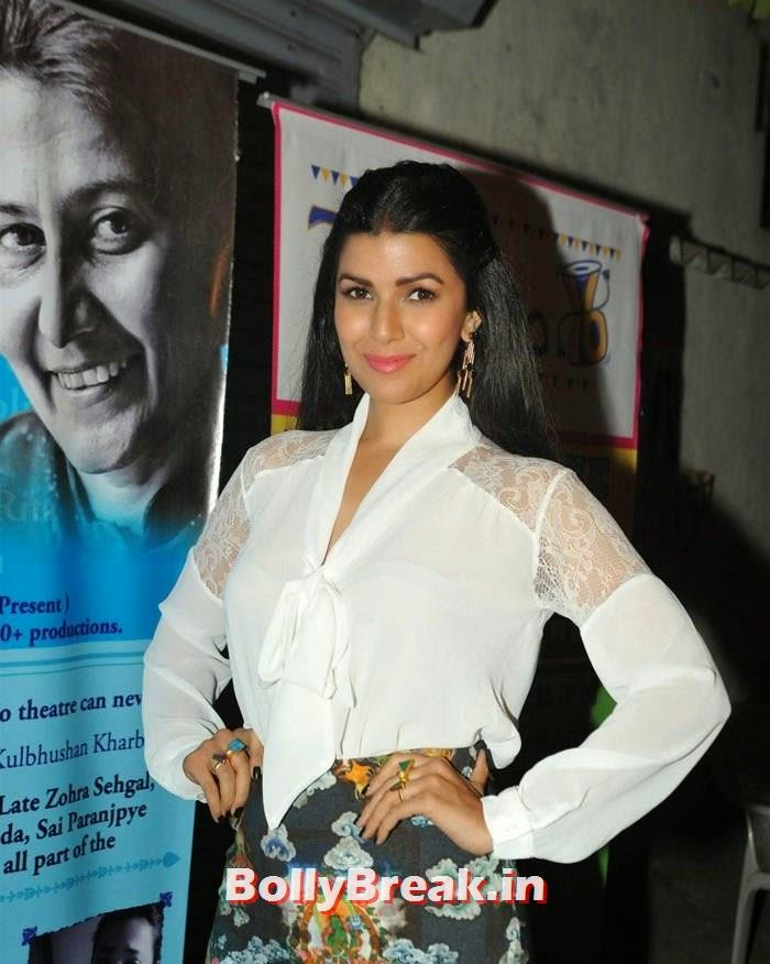 Nimrat Kaur, Nimrat Kaur hot Pics in Skirt Dress at Thespo 16 Awards 2014