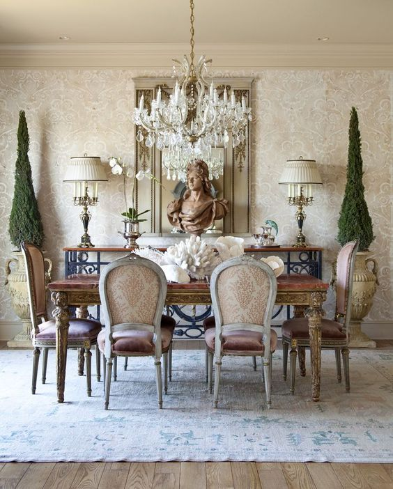 Formal Dining Room Decor: Eye For Design: How To Create Stylish Formal Dining Rooms