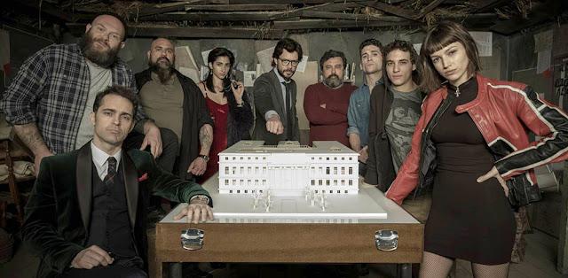 Datos curiosos sobre la serie 'La Casa de Papel' de Netflix