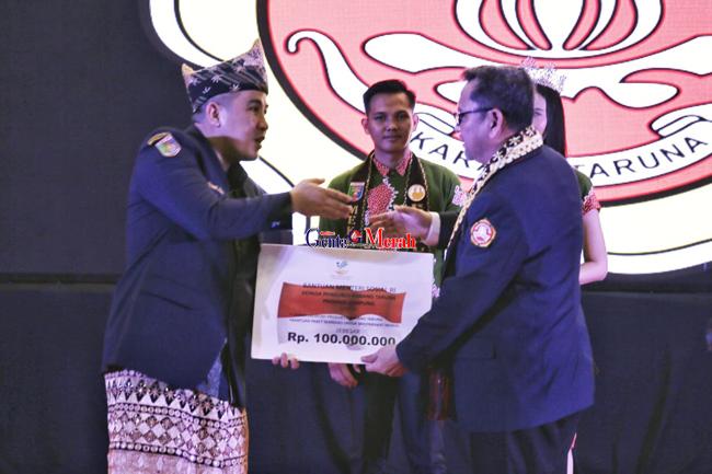 Ridho Focardo Claim Seluruh Desa di Lampung Telah Berdiri Karang Taruna