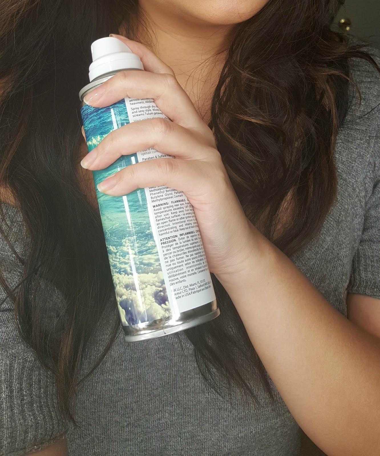 Review Igk Beach Club Texturizing Spray