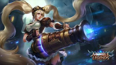 Layla Mobile Legends adalah hero tipe role marksman yang pertama kali kita dapatkan saat menjadi user Mobile Legends