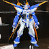 MG 1/100 Gundam Astray Blue Frame D and Premium Bandai parts on Display at C3 X HOBBY 2014