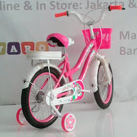 16 evergreen sepeda anak perempuan ctb