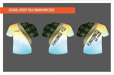 Jersey Palu Nomoni International Marathon 2016 pemerintah kota palu sulawesi tengah