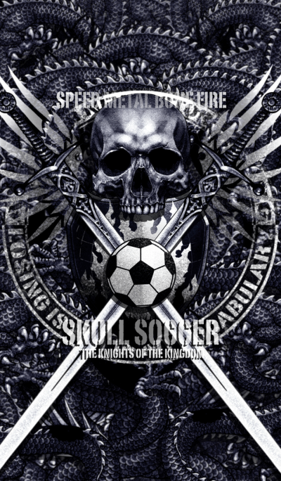 The Knights of the Kingdom Skull Soccer