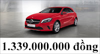 Bảng thông số kỹ thuật Mercedes A200