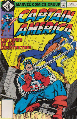 Captain America #228, the Constrictor