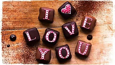 Chocolate Day Status sms quotes images in hindi