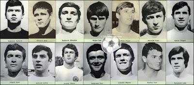 Hajduk Split album sličice Nogometna liga 1970/71 kolinska