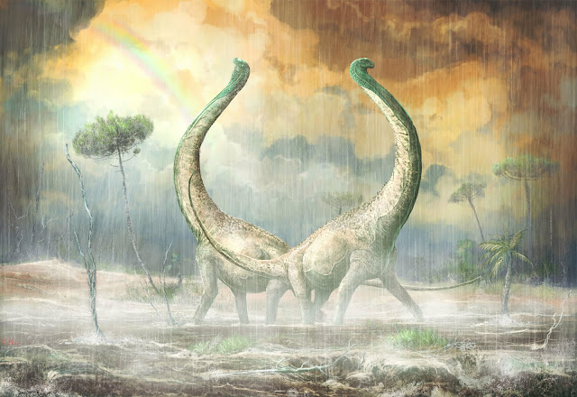 New dinosaur with heart-shaped tail provides evolutionary clues for African continent