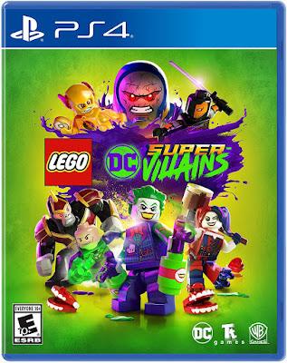 Lego Dc Super Villains Game Cover Ps4 Standard