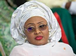 Aisha Buhari returns to London