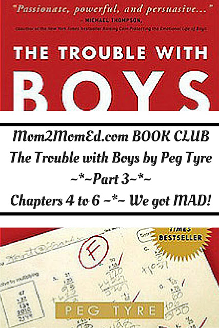 Mom2MomEd Book Club: The Trouble with Boys by Peg Tyre, Part 3