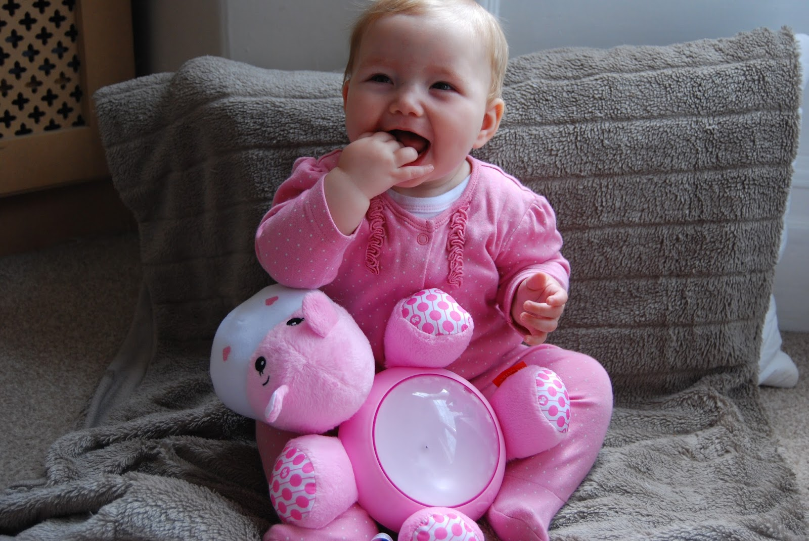 The Fisher-Price Soother is ideal for bedtime and nap time both at home and  away, and if you aren't a fan of pink you'll be happy to know that it comes  ...