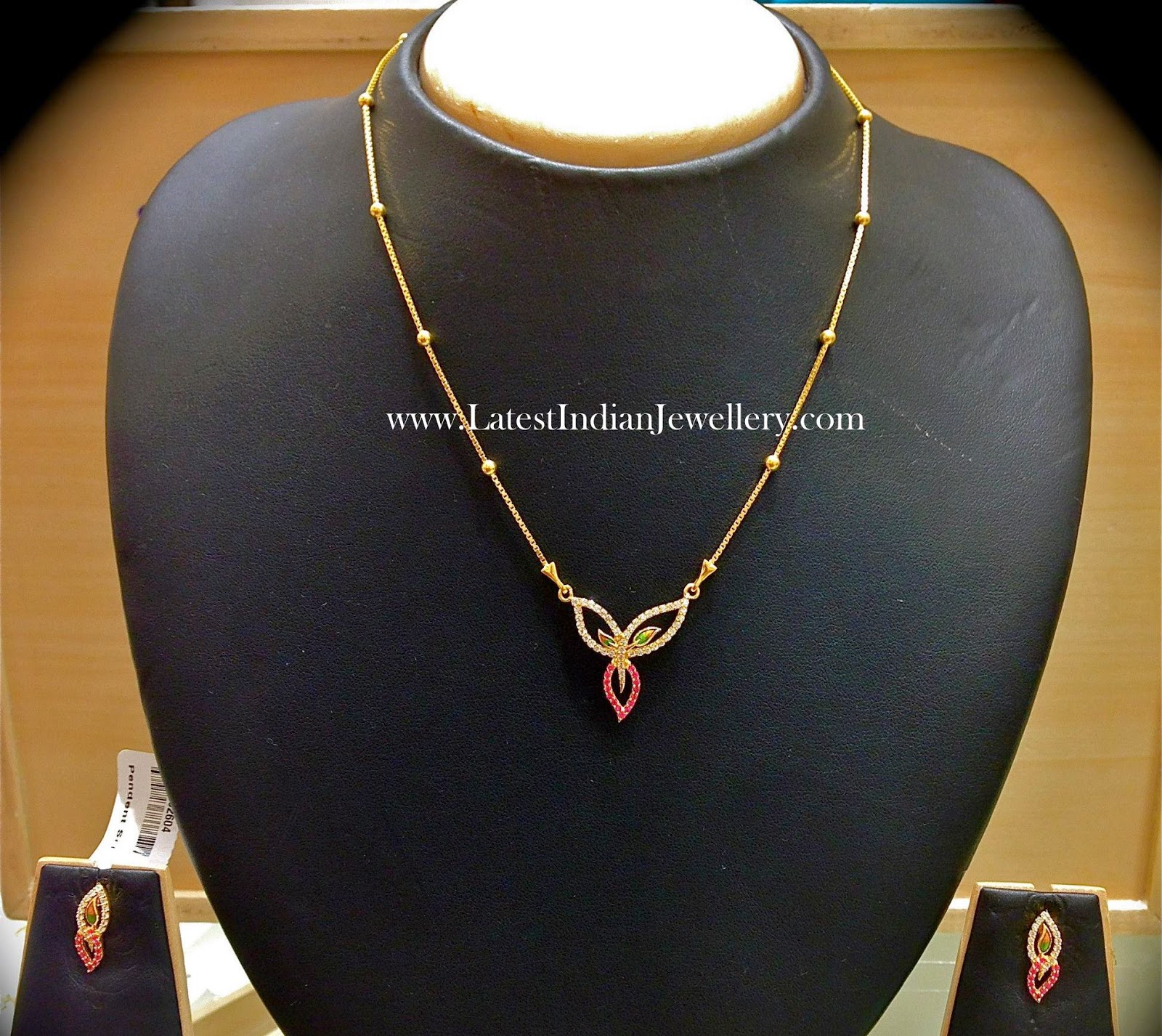 Elegant Light Weight Gold Necklace